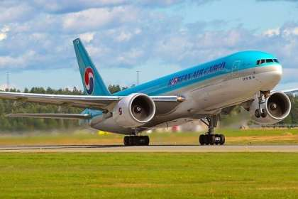 Korean Air launches cargo flights to Delhi, India