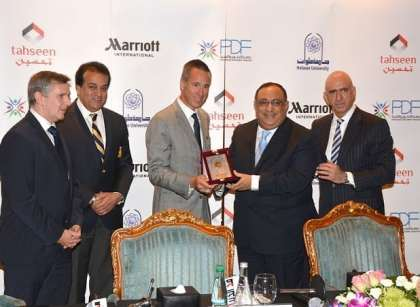 Marriott International reinforces its commitment to Egypt