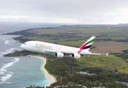 'Major safety breach': Drone flies dangerously close to Emirates A380