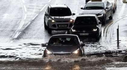 Belfast International Airport records torrential rain, warns of flooding