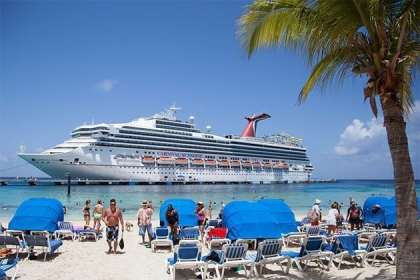 Cruise report details average number of days between bookings & sailings