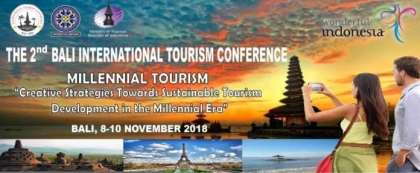 2nd Bali International Tourism Conference to focus on Millennial Tourism