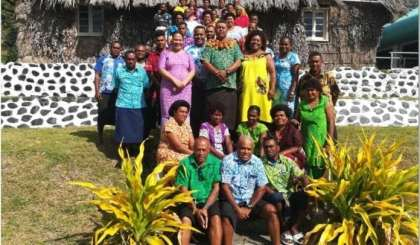Local Village Communities of Ovalau, Fiji  Receive Training on Sustainable Tourism