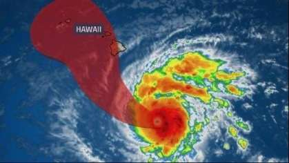 What visitors should do with Category 5 Hurricane Lane threatening Hawaii?