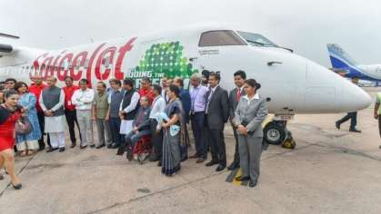 SpiceJet successfully completes India's first flight powered by biojet fuel
