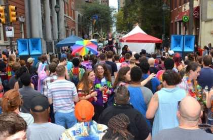 """Where is the largest """"National Coming Out Day"""" festival in the world?"""
