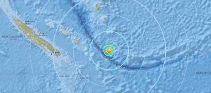 Earthquake shakes southeast of Loyalty Islands