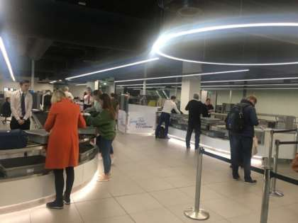 At Belfast City Airport security clearance takes 6 minutes