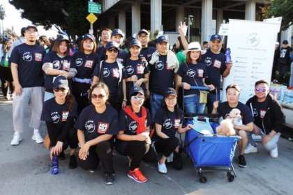 SkyTeam US partners participate in Aids Walk Los Angeles 2018