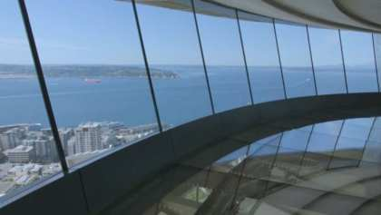 Space Needle: World's first and only revolving glass floor wins award