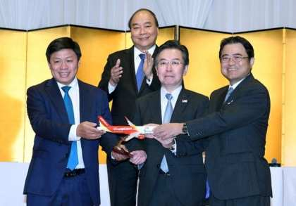 Vietjet expands network to Japan