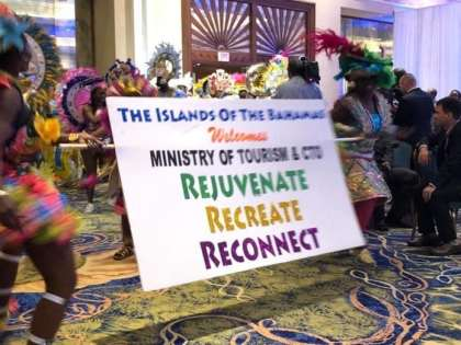 Proud Bahama Prime Minister opening SOTIC2018 with a lot of culture included