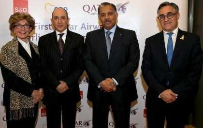 Qatar Airways GCEO hosts first European Parliamentarian Evening