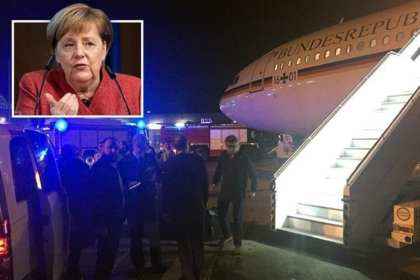 German Chancellor's plane makes emergency landing in Cologne