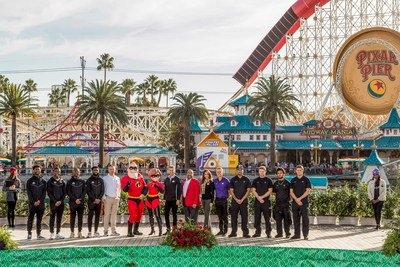 Disneyland Resort welcomes Rose Bowl game-bound teams