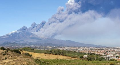 Catania airport opens with limited flights after Mount Etna volcanic eruptions