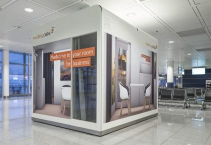 "Munich Airport introduces the ""MeetingCab"" at Terminal 2"
