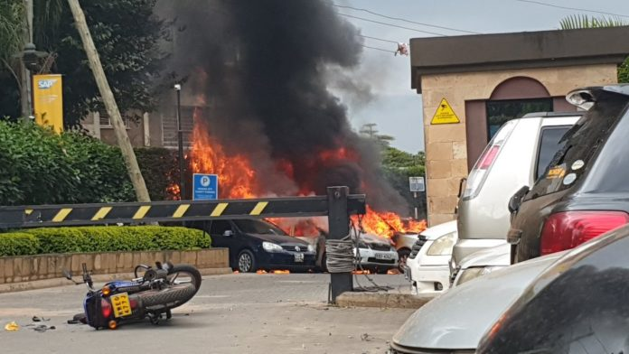 Al-Qaeda terrorists attack hotel in Nairobi, Kenya, fatalities reported