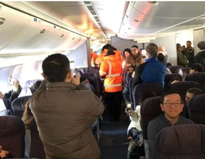 250 United Airlines passengers taken hostage in freezing temperature by Canadian Authorities