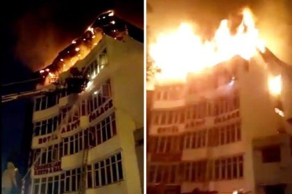 17 people dead, many injured in New Delhi hotel fire