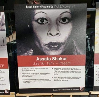 JetBlue celebrates Black History Month with poster of cop killer at JFK Airport
