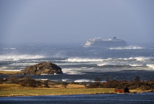 Passenger evacuation underway from Viking Sky cruise ship stranded off Norway