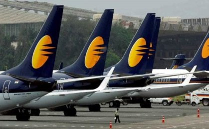 India's Jet Airways halts all international and domestic operations