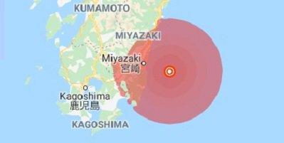 Strong earthquake strikes Japan's Kyushu, no tsunami warning issued