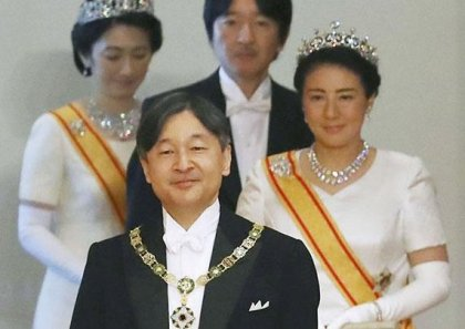 Crown Prince Naruhito ascends the Chrysanthemum throne, becomes new emperor of Japan