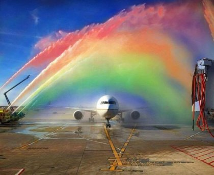 Pride flies with United Airlines