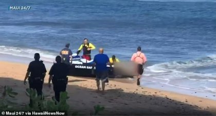 Kaanapali Beach in Maui compared with other dangerous beaches after deadly shark attack