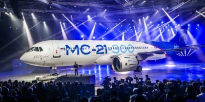 Russian MC-21 passenger jet will make its public debut at MAKS-2019 air show