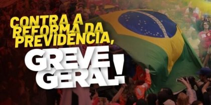 Tear gas and burning tires in Rio de Janeiro and Sao Paulo as Brazilians begin general strike
