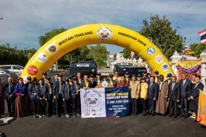 First Bhutan-Thailand Friendship Drive