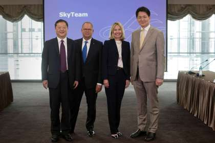 SkyTeam Announces Walter Cho, Chairman and CEO of Korean Air, as Chair of its Alliance Board