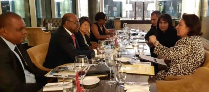 Jamaica Tourism Minister Bartlett Meets With Top Tourism Resilience Partners in Azerbaijan
