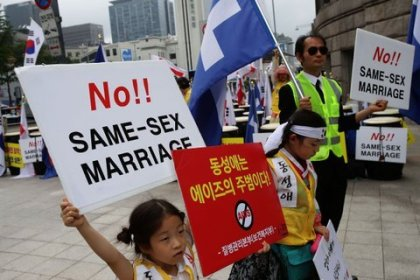 Homosexuality is a sin: South Korea's Gay Pride Festival