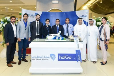 IndiGo commences operations on two new routes between India and Abu Dhabi