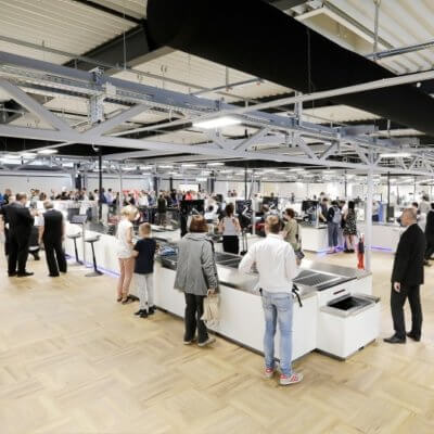 Frankfurt Airport opens seven new security control lanes in extension Hall A