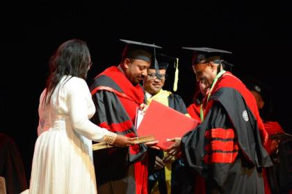 Addis Ababa University confers Honorary Doctoral Degree on Ethiopian Group CEO