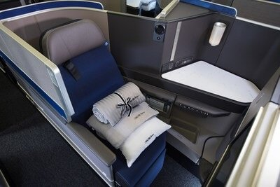 United Airlines offers more Business Class seats between New York and London than any U.S. carrier