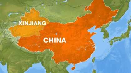 Xinjiang means beautiful scenery for tourists and concentration camps for local minorities