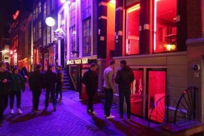 How to find a prostitute in Amsterdam? Tourism and brothels