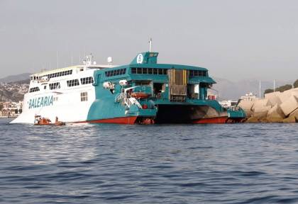 'Unharmed and evacuated': 393 tourists rescued after Ibiza ferry runs aground