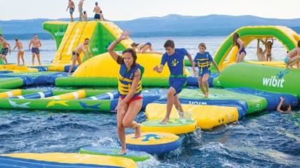 World's largest inflatable aqua park in Indonesia breaks Guinness World Record