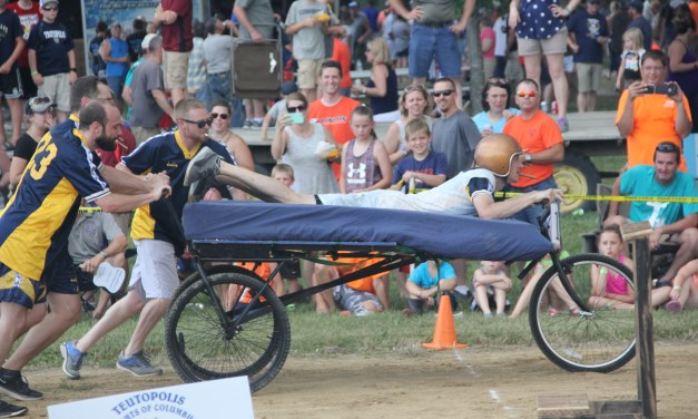 Bed races provide creativity, fun