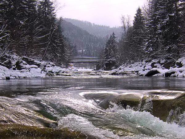 ГУЦУЛЬСКАЯ РАПСОДИЯ (зимний) | Яремче водопад