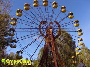Прип'ять парк фото / поїздка в Чорнобиль