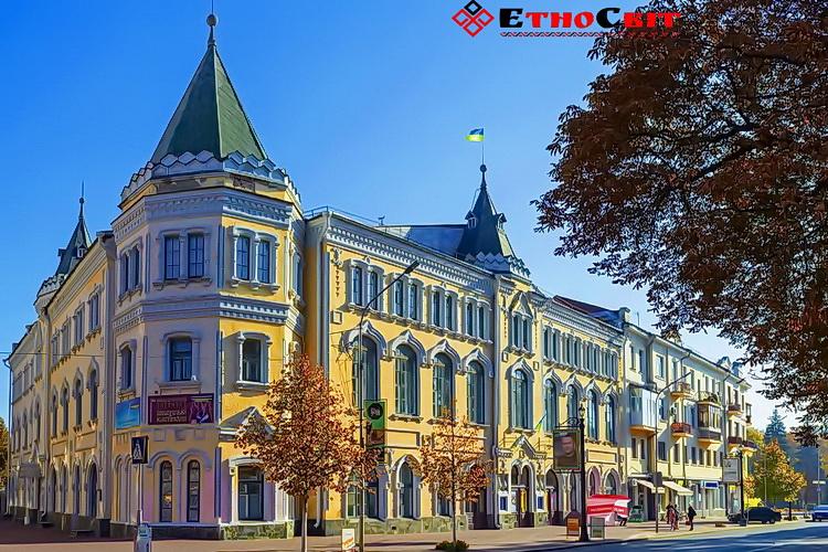 Чернігів пам'ятки культури обласний філармонійний центр