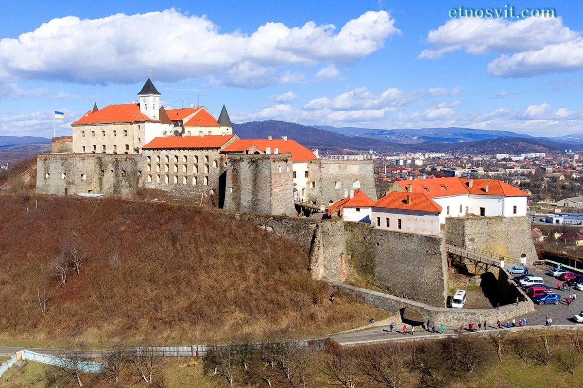 Закарпаття - Мукачівський замок Паланок